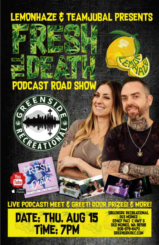 Fresh Till Death Podcast Road Show