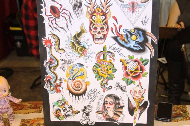 seattle tattoo expo 2016 greenside recreational cannabis traditional full color flash
